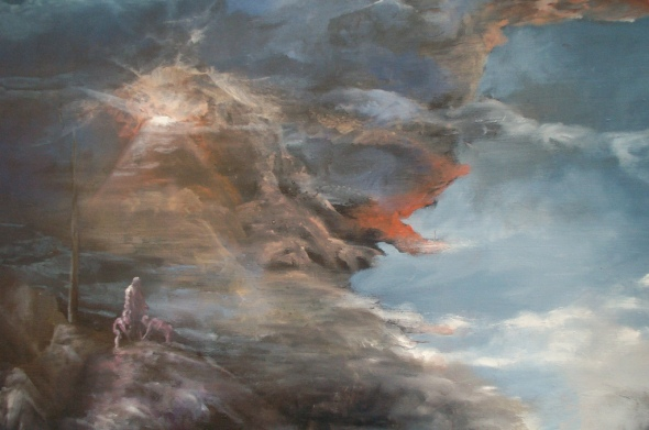Eino Steinstad - Painting: Untitled (detail)