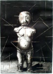 "Eino Steinstad - Drawing: ""Constructing Cupid"""