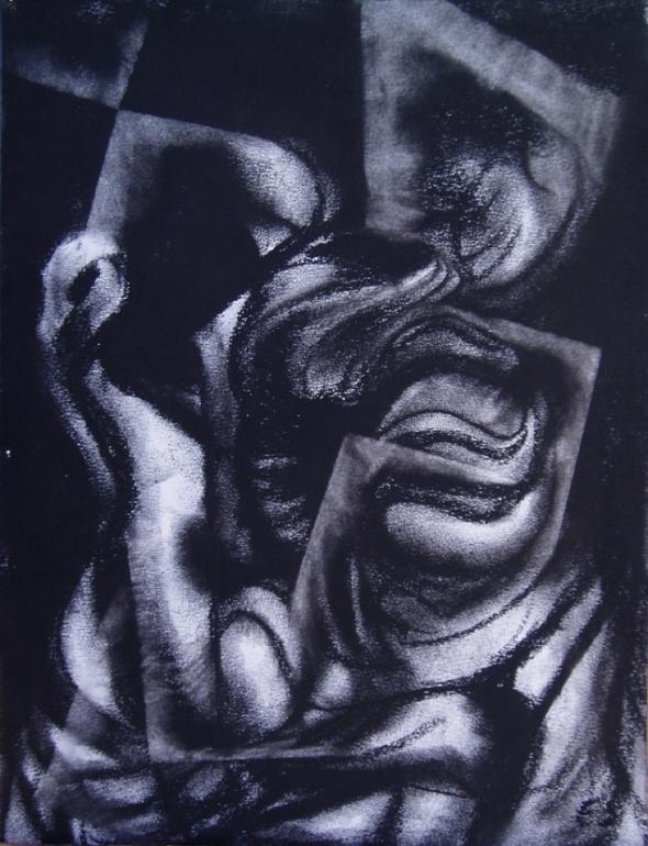 """Eino Steinstad - Drawing: """"Untitled"""""""