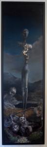 """Eino Steinstad – Painting: """"Folket og Landet"""""""