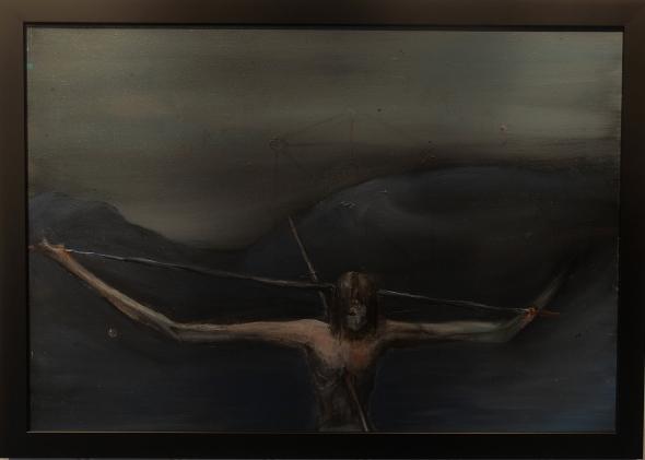 "Eino Steinstad – Painting: ""Vår Skyld"""