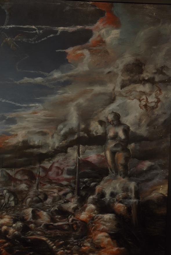Eino Steinstad – Painting: Untitled (detail)