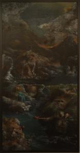"Eino Steinstad – Painting: ""Heimgardstun"""